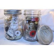 Mini Mason Jars - Step Back In Time