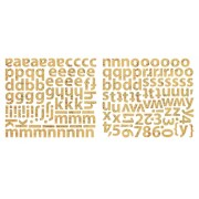 Mini Alpha Stickers - Krafty