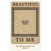 Beautiful Journal Card