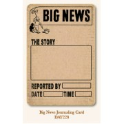Big News Journal Card