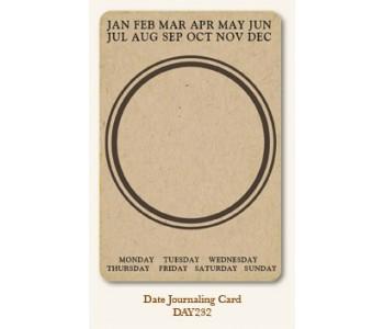 Date Journal Card