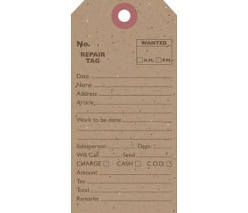 Kraft Shipping Tag - Repair Tag