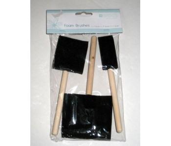 Foam Brushes - Pack 1